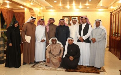 الجمعية السعودية للتصوير الضوئي في مقبرة الإعلام