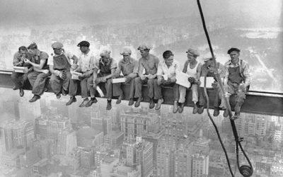 Men at Lunch في فيلم وثائقي