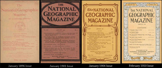 مجموعة متنوعة من أعداد المجلة