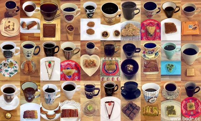 30 يوماً … 30 كوباً من القهوة