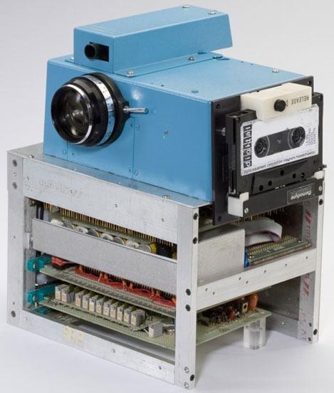 أول كاميرا